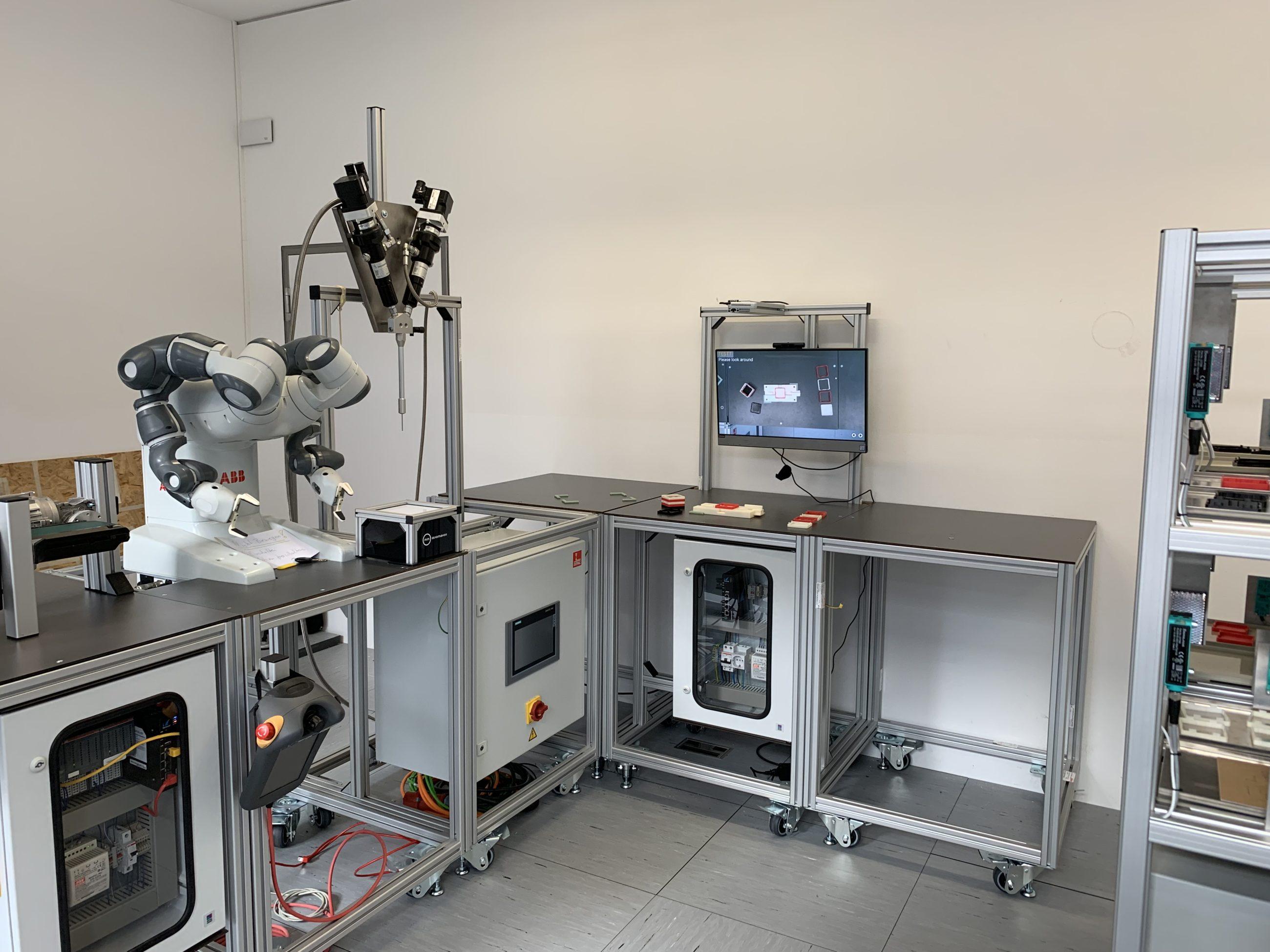 Entwicklung des Smart Production Demonstrator